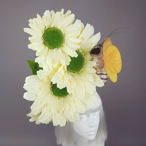 """Babbity Bumble"" Giant Flowers & Bee Headpiece"