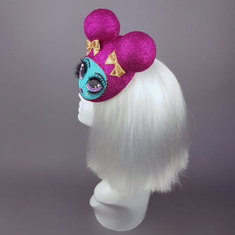 """Pipsy Popsy"" Hand Painted Doll Face Fascinator"