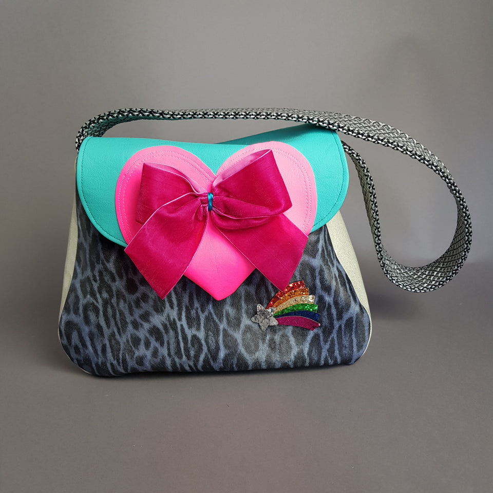 """LollyPop"" Quirky Colourful Handcrafted Handbag - Labour Cost ONLY!"