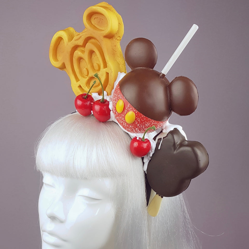 """Douceur"" Cake & Ice-cream Headpiece"
