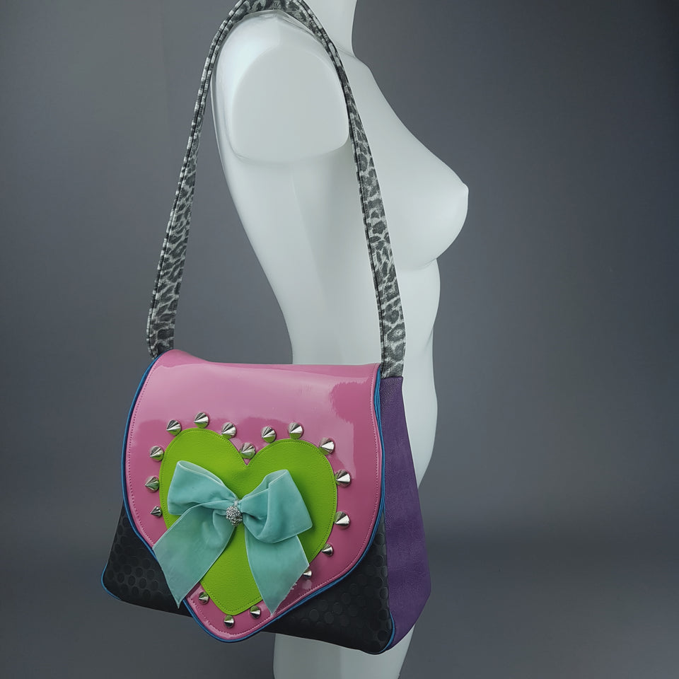 Quirky Colourful Handcrafted Handbag - Labour Cost ONLY!