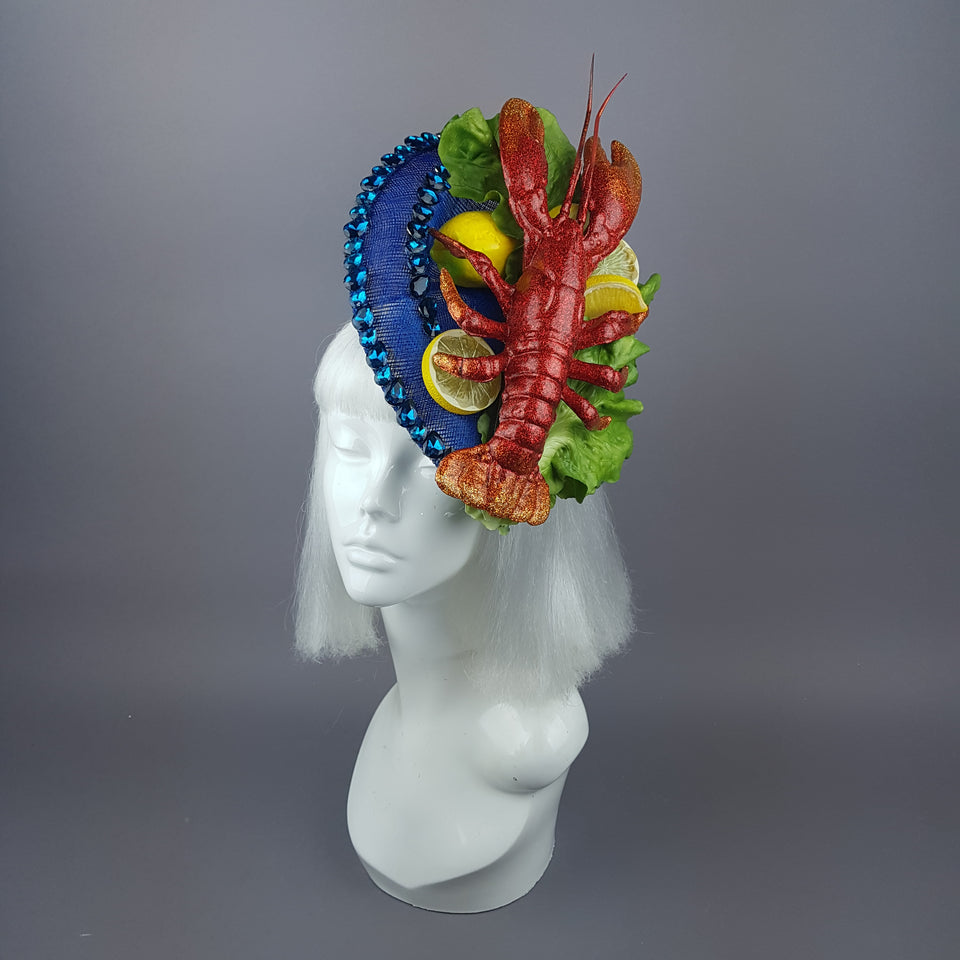 """Muirgen"" Quirky Lobster Salad Hat"