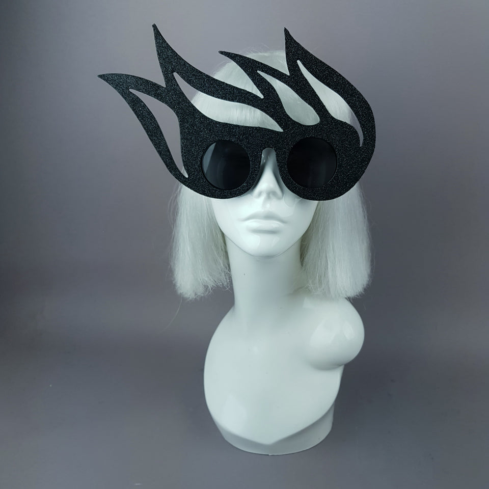 """Ignite"" Black Flame Sunglasses"