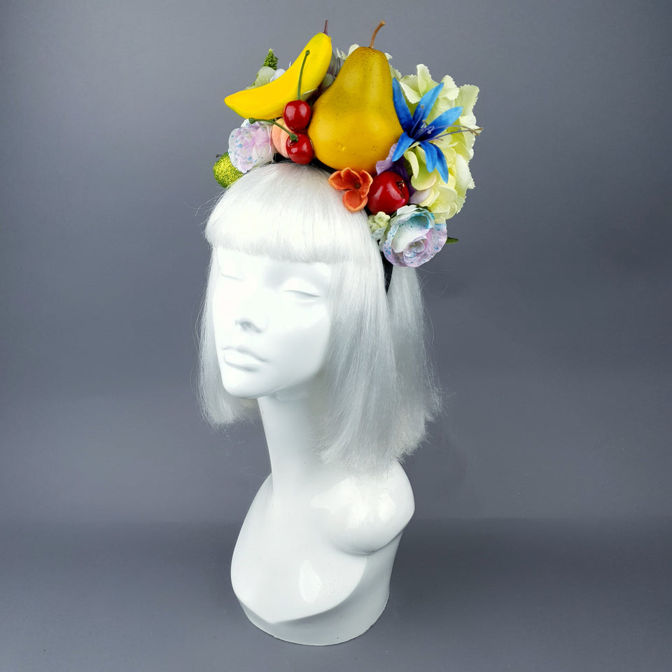 Fruit & Flower Headdress