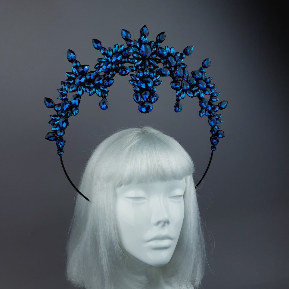 Blue Diamante Jewel Halo 22