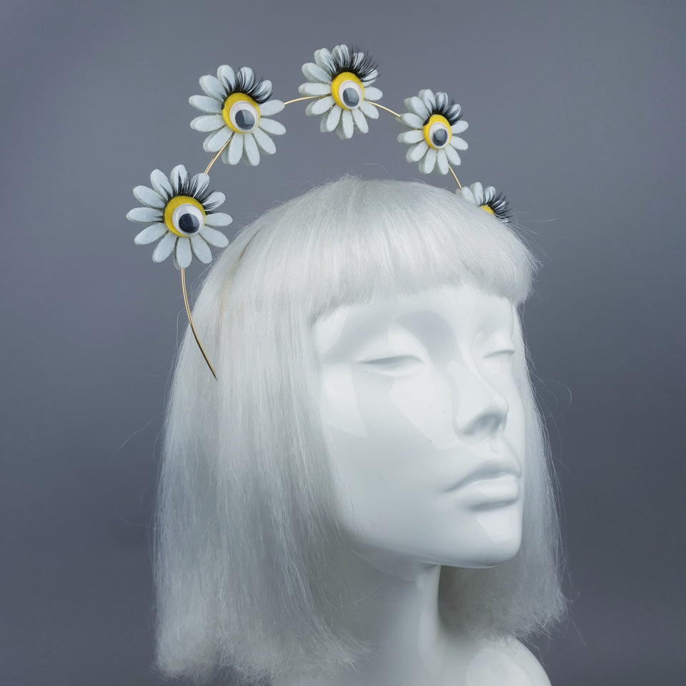 Daiay Flower & Eyes Halo Headpiece
