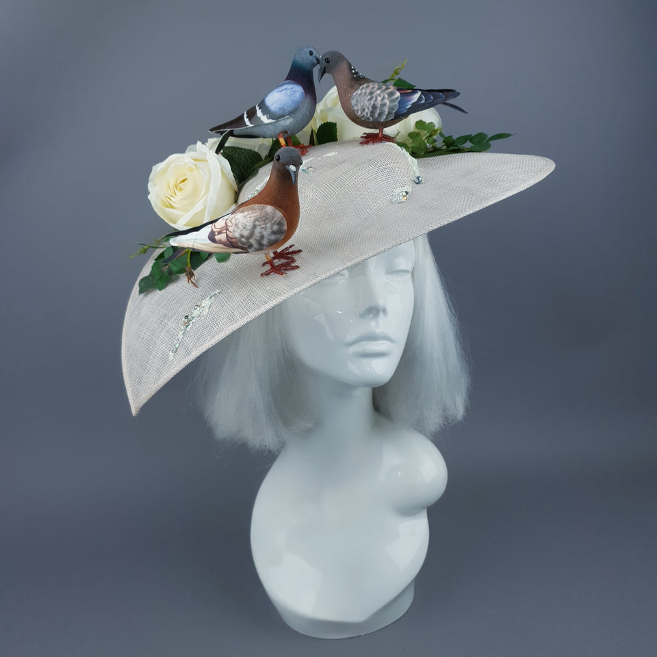"""For Goodness Sake!"" The Ultimate Pigeon Poop Hat"