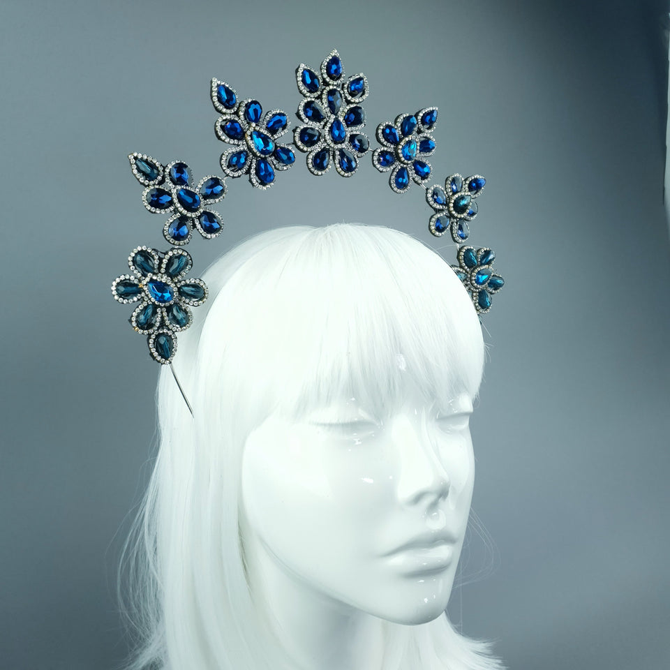 Blue Diamante Jewel Halo 92
