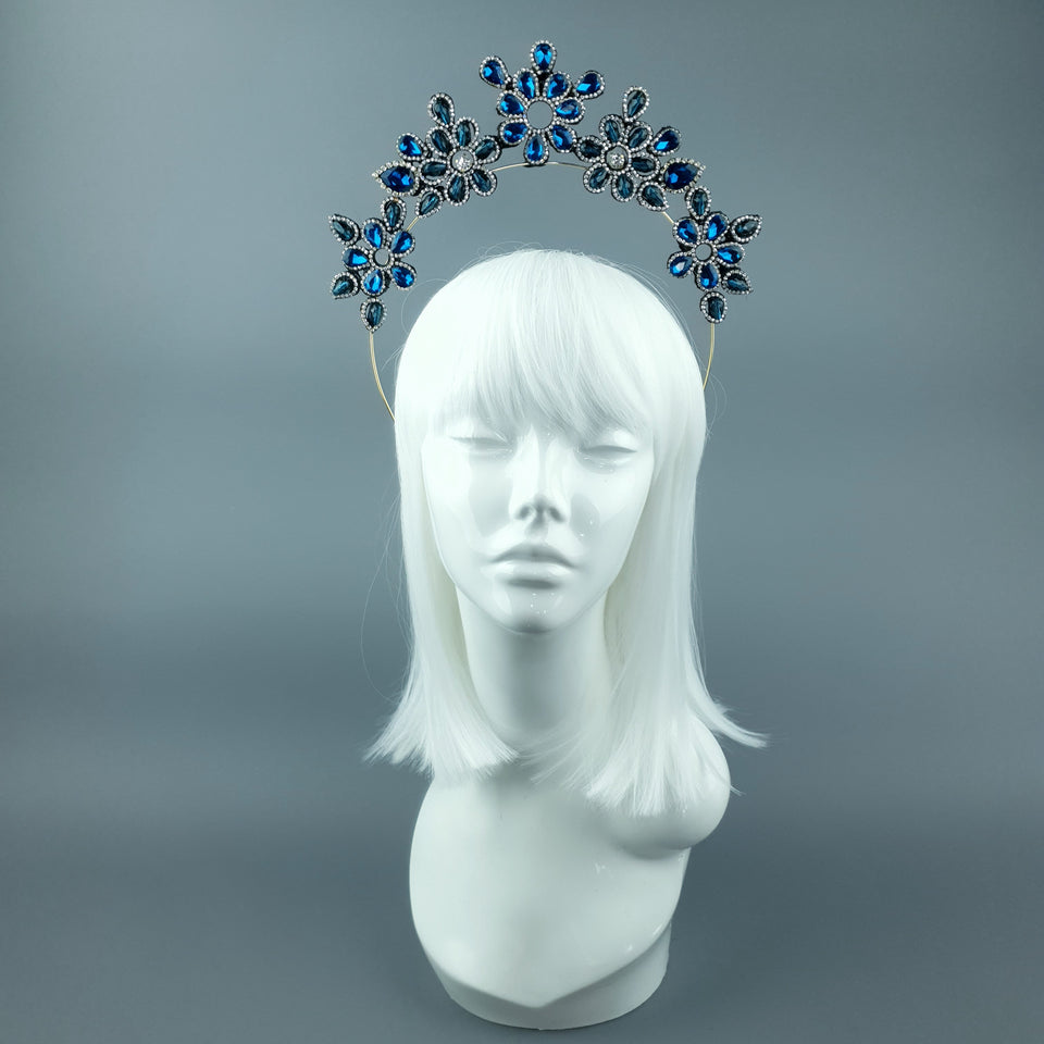 Blue Diamante Jewel Halo 94