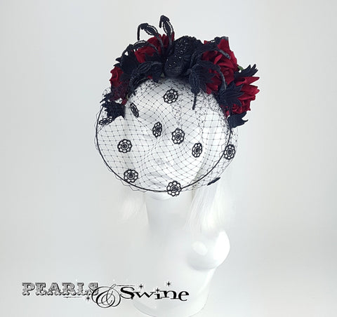 Anatomical spider headband