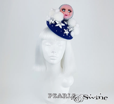 Moon doll face hat