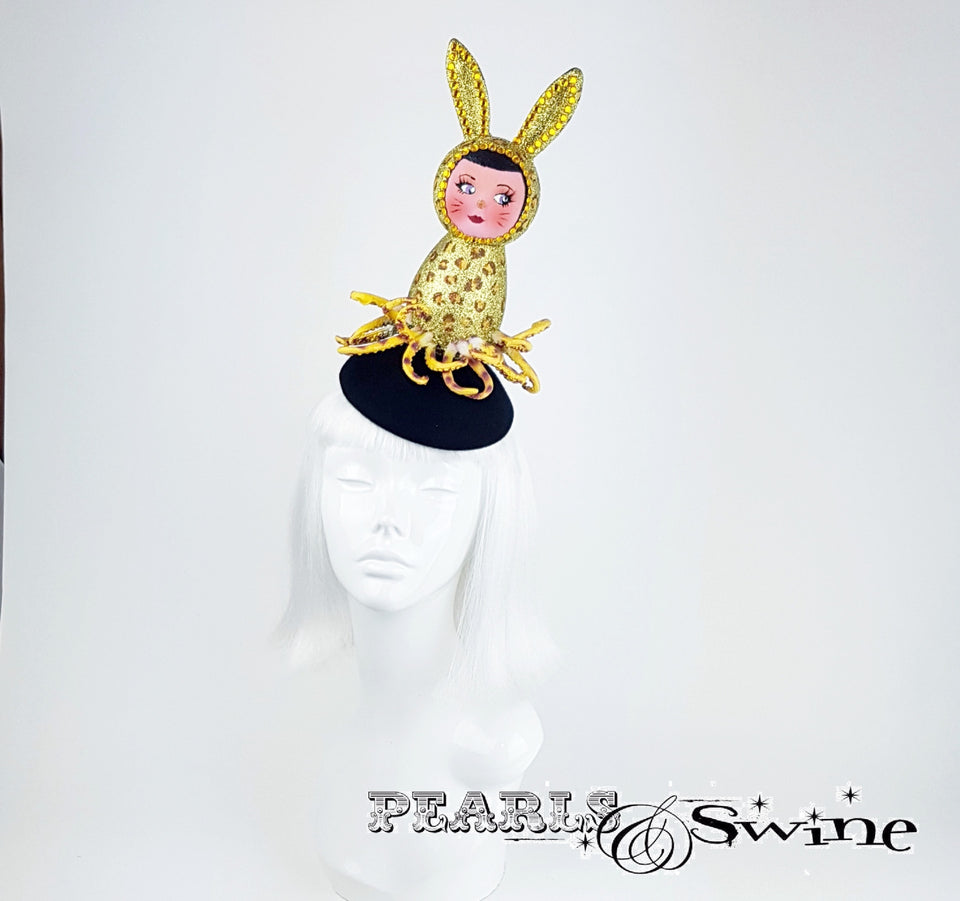 Doll Face Sparkling Octopus Hat