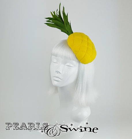 Unique Yellow Pineapple hat