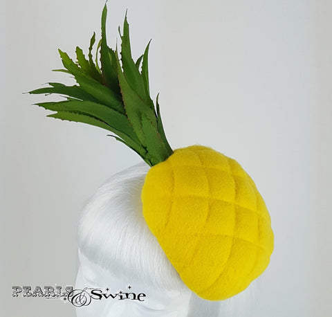 Different Yellow Pineapple hat