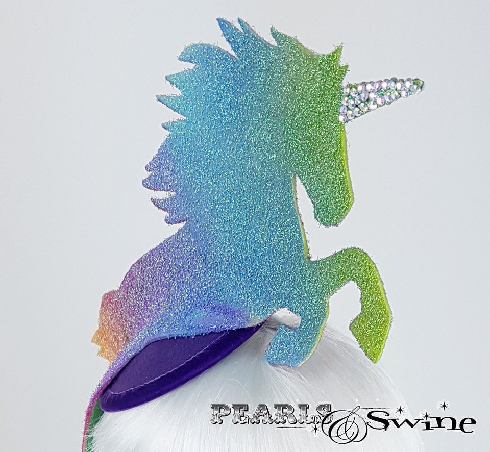 sparkling unicorn hat