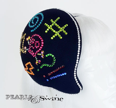 personalised 3D speech bubble hat