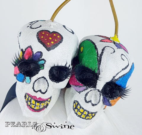 Skull Day of the dead Sugar skull headband
