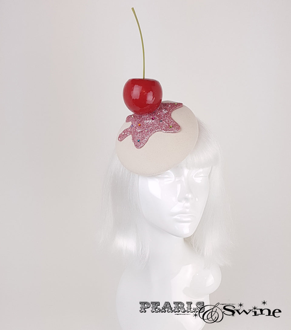 Giant Cherry Cupcake Glitter Hats for sale UK