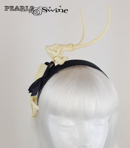 Dinosaur Bones & Bow Headband, Headpieces for sale UK