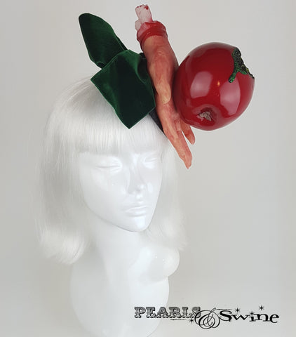 snow white poison apple halloween headpiece