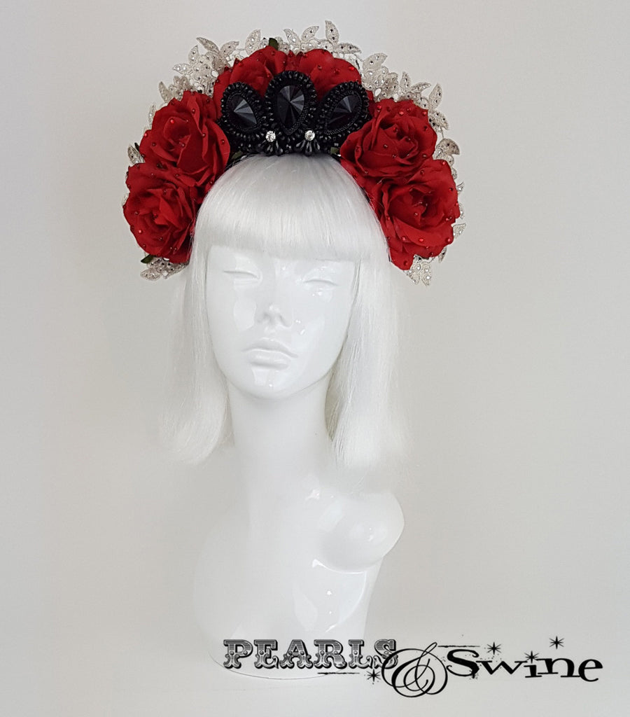 Gothic Virgin Mary Headdress, Ladies hats & Fascinators for sale UK