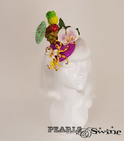Octopus & Pineapple Cocktail headpiece