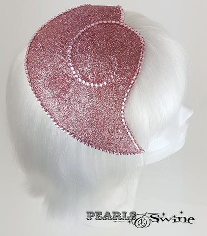 Pink Glitter Vintage style Flamingo Hat, for sale UK