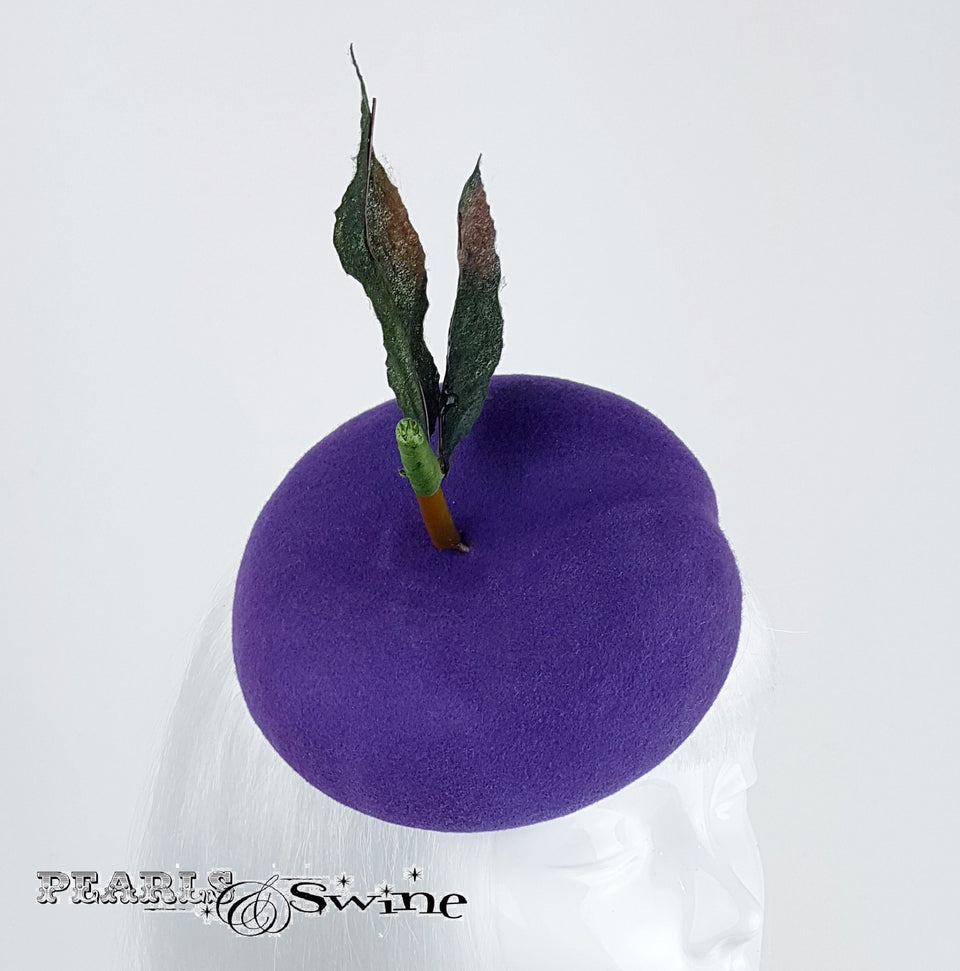 Purple Plum Felt hat