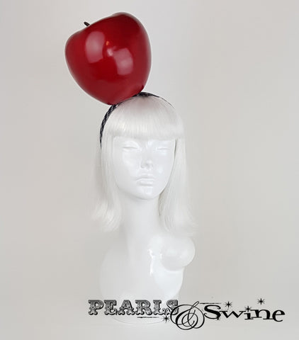 Giant Apple Headband, quirky fruit headpiece for sale UK