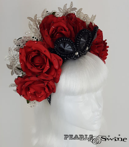 Gothic Virgin Mary Headdress, quirky hats for sale UK
