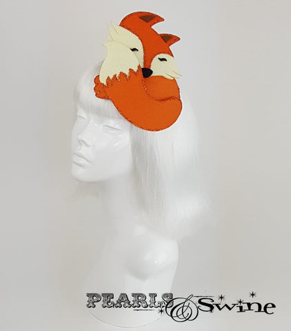 Sleeping Fox Fascinator UK