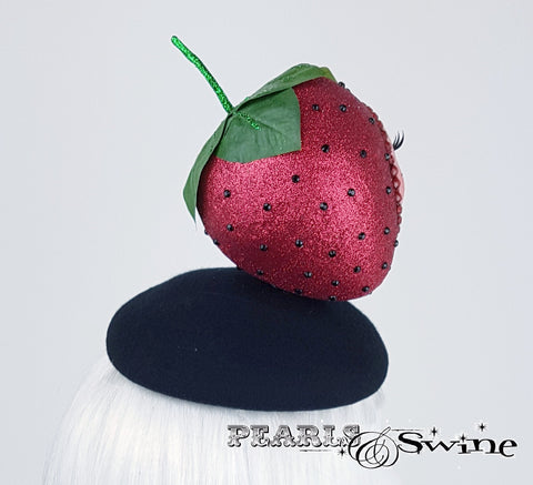 Doll Face Strawberry Hat