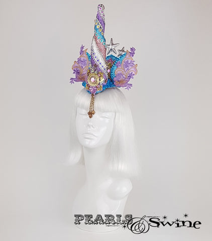 glitter unicorn surreal headdress