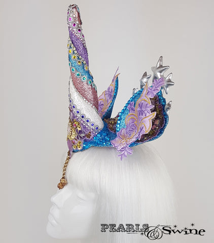 glitter unicorn surreal unique headdress