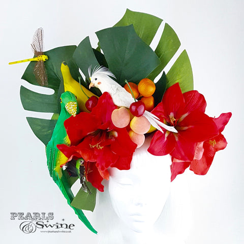 Tropical headdress