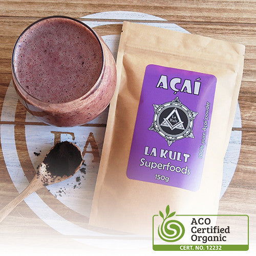 "Organic Acai Powder I ""The King of Antioxidants"""