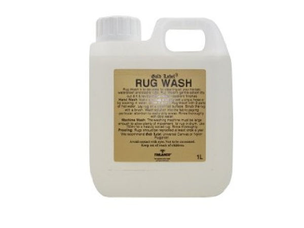 Gold Label Rug Wash - Craftwear Equestrian Online Saddlery