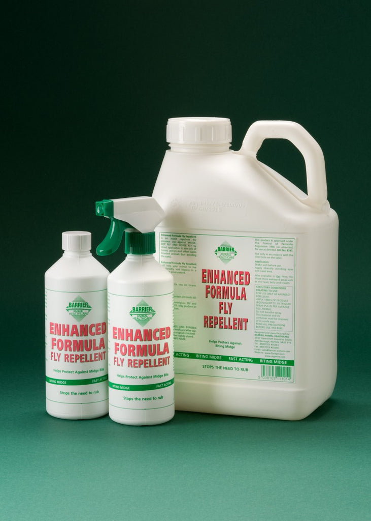 Barrier Enhanced Formula Fly Repellent - Craftwear Equestrian Online Saddlery