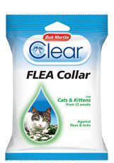 Clear Flea Collar for Cats & Kittens