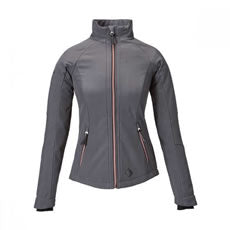 Caldene Leisure Jacket Sofia Softshell Womens Charcoal