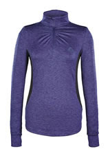 Caldene Leisure Technical Top Jette Womens Navy