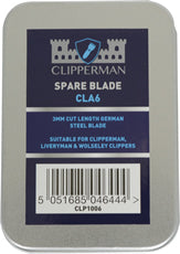 Clipperman CLA6 German Steel Blade Set 3mm