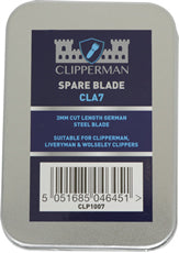 Clipperman CLA7 German Steel Blade Set 3mm