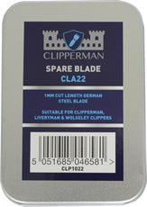Clipperman CLA22 German Steel Blade Set 1mm