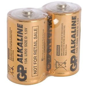 Fenceman D Cell Alkaline Batteries