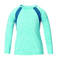 Harry Hall SS18 TEX Base Layer Sandsend UV Junior Turquoise