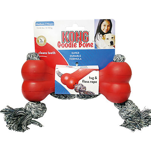 KONG Goodie Bone c/w Rope