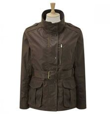 Caldene Country Jacket Figsbury Belted Wax