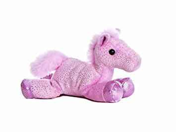 Aurora Flopsie Coloured Horse Toy
