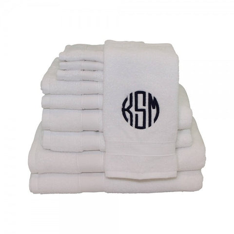 personalized towels monogram towels